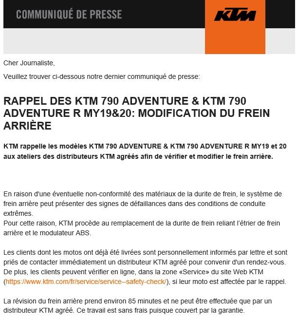 Rappel constructeur : KTM 790 ADVENTURE/R Rappel10