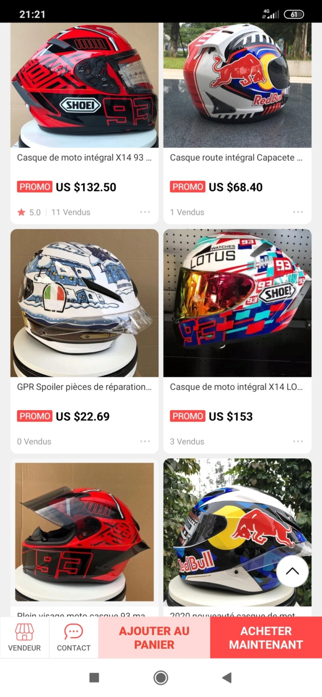 Casque Arai/Shoei/AgV à moins de 100€... chinoiseries ! Screen20