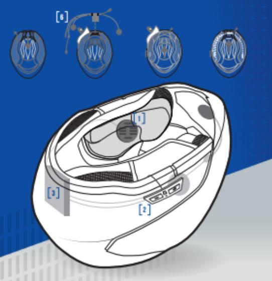 [NEW : Présentation] Système intercom pilote/passager SHARKtooth Prime pour casque  Screen26