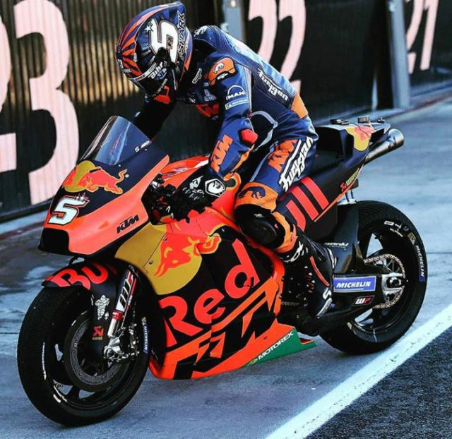Les livrées des MotoGP en test à Valence : décos et résultats Screen58