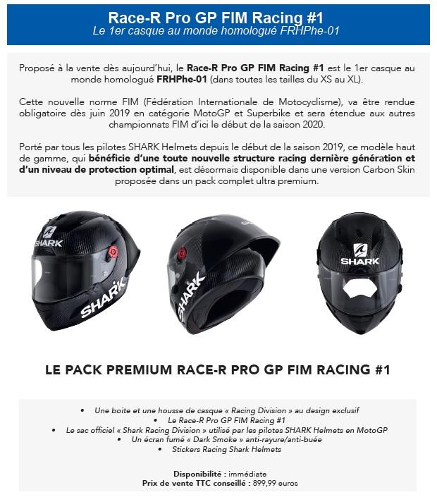 SHARK HELMETS dévoile 4 nouveaux casques pour le GP de FRANCE MOTOGP Shark510