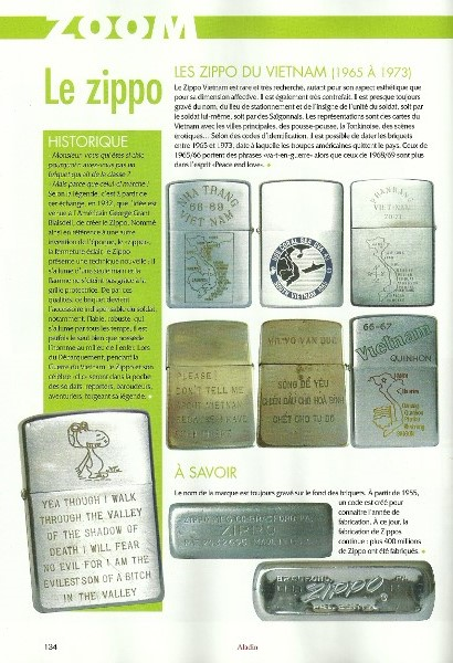 Journaliste réalise article sur collectionneur de Zippo - Page 4 Numari11