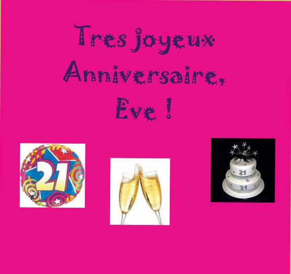 Bon anniversaire... - Page 2 Eve10