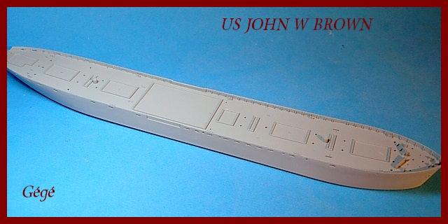 1/350 Trumpeter SS JOHN W BROWN 00117