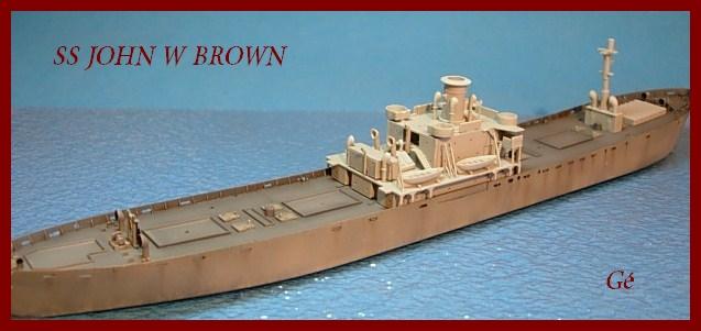 1/350 Trumpeter SS JOHN W BROWN 00124