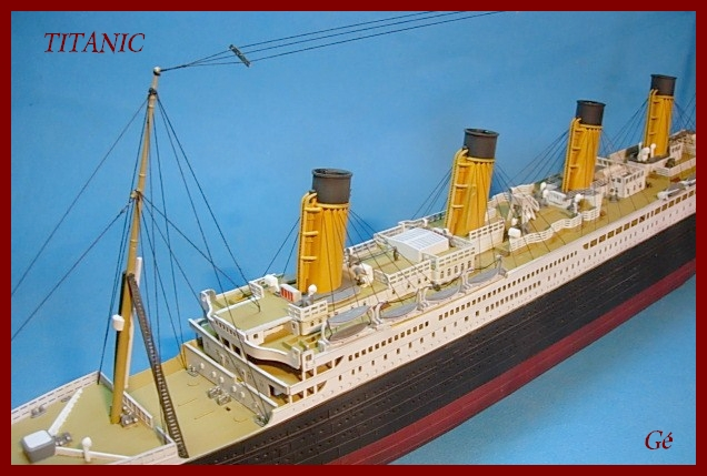 Titanic 1/400 Revell - Page 2 00126