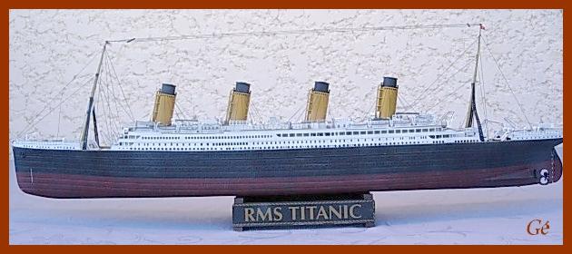 RMS Titanic (Revell 1/400°) de G Chapuis 00127