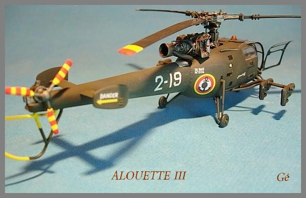 Alouette III Fujimi 1/48 00229
