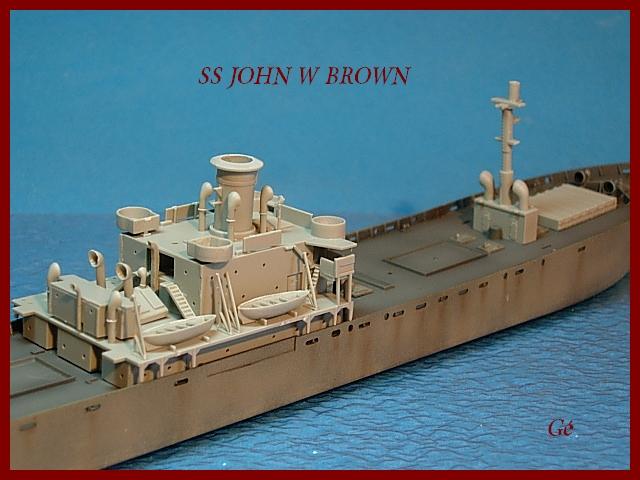 1/350 Trumpeter SS JOHN W BROWN 00320