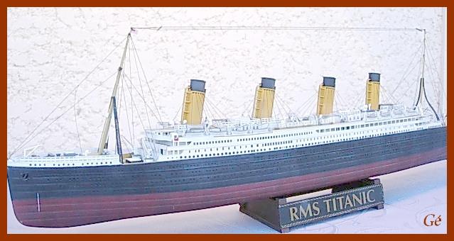 RMS Titanic (Revell 1/400°) de G Chapuis 00321