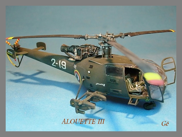 Alouette III Fujimi 1/48 00330