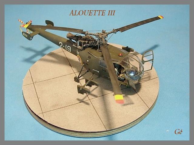 Alouette III Fujimi 1/48 00519