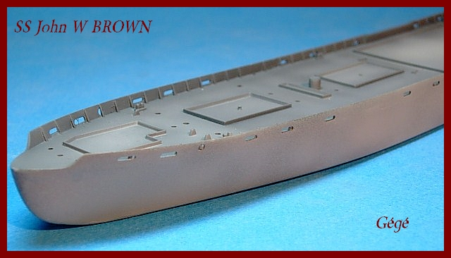 1/350 Trumpeter SS JOHN W BROWN 00710