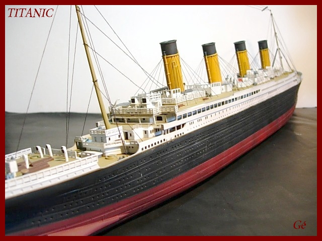 Titanic 1/400 Revell - Page 2 00711