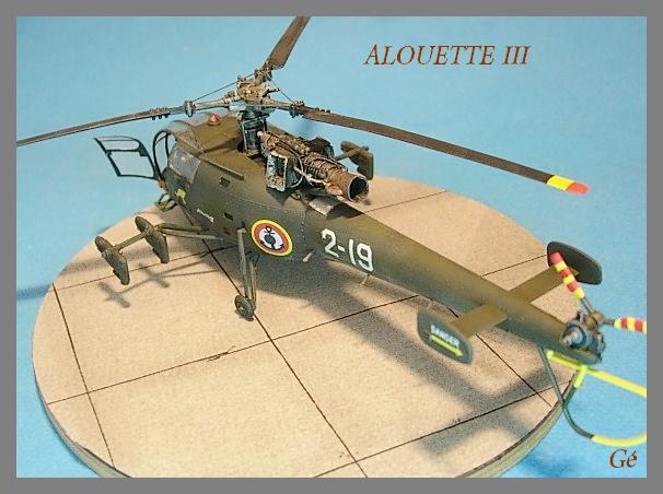 Alouette III Fujimi 1/48 00814