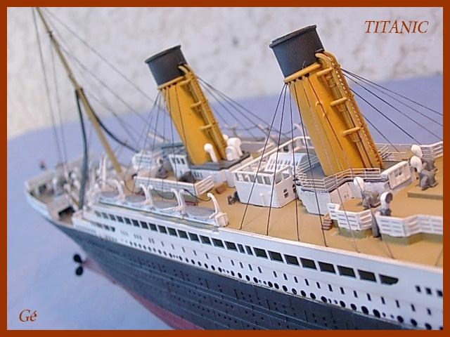 RMS Titanic (Revell 1/400°) de G Chapuis 01011