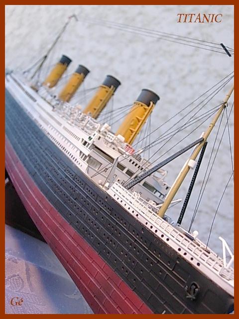 RMS Titanic (Revell 1/400°) de G Chapuis 01110