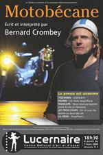 Motobécane de Bernard Crombey Affich10