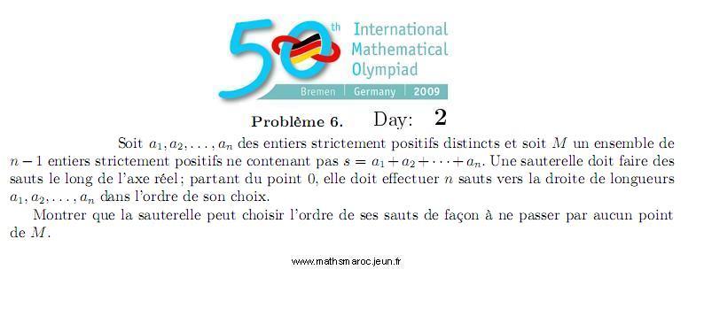 Problem 6 IMO 2009 (Day2) Pb610