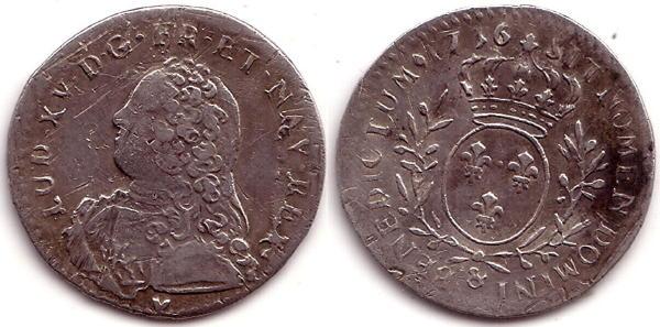 Liard de Louis XV - 1769 Montpellier Sans_t13