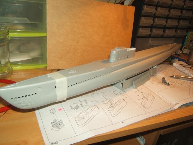 peinture - USS GATO SS-212 Dscf1531