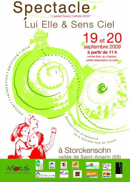 Spectacle Lui Elle & Sens Ciel - septembre 2009 - Alsace Flyers11