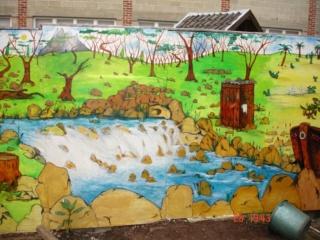 peinture sur mur