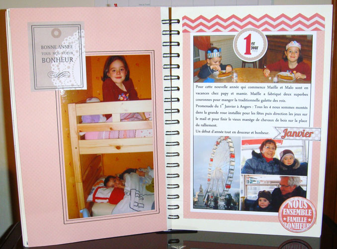 FAMILY DIARY DANIELLE - 30 avril 2014 -  pages 50 à 56 - TOME 1 TERMINE 2013-114