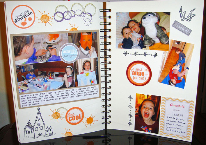 FAMILY DIARY DANIELLE - 30 avril 2014 -  pages 50 à 56 - TOME 1 TERMINE 2013-213