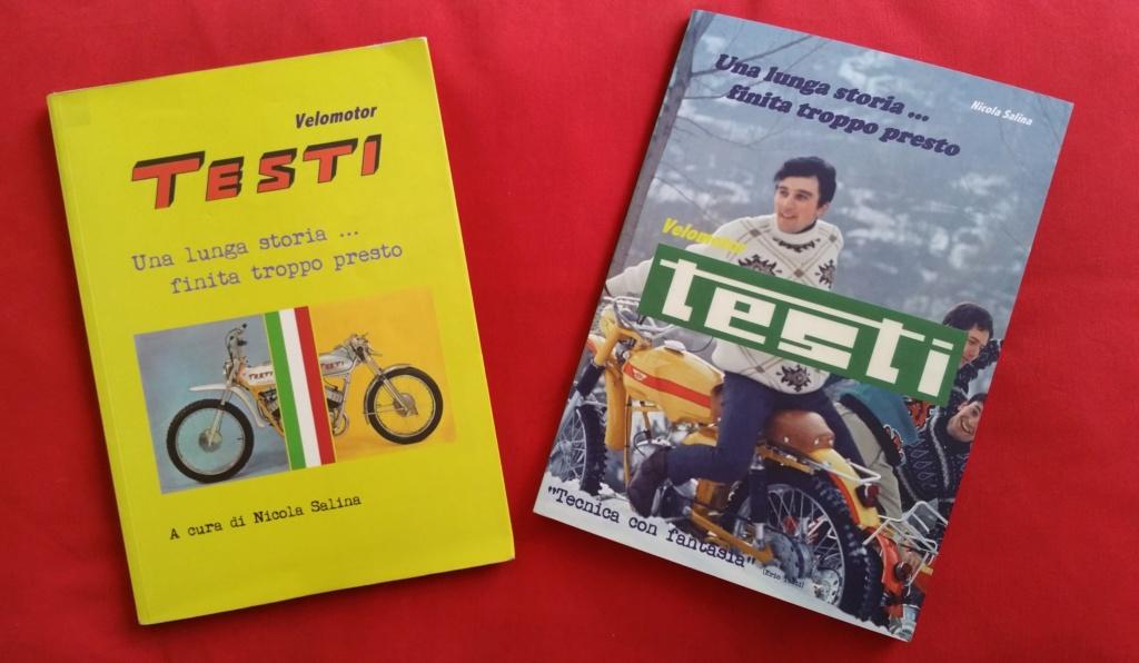 Livre sur la marque TESTI. 20190411
