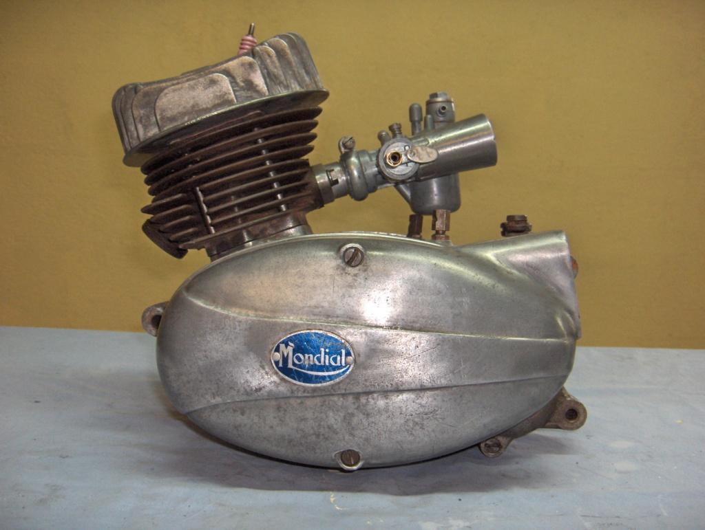 MONDIAL 75cc Scugnizzo Moteur10
