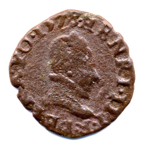 Denier Tournois du Dauphiné de Henri III 1157_d10