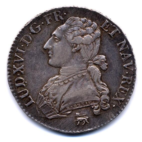 Demi écu Louis XVI 1791 .A Demi_a11