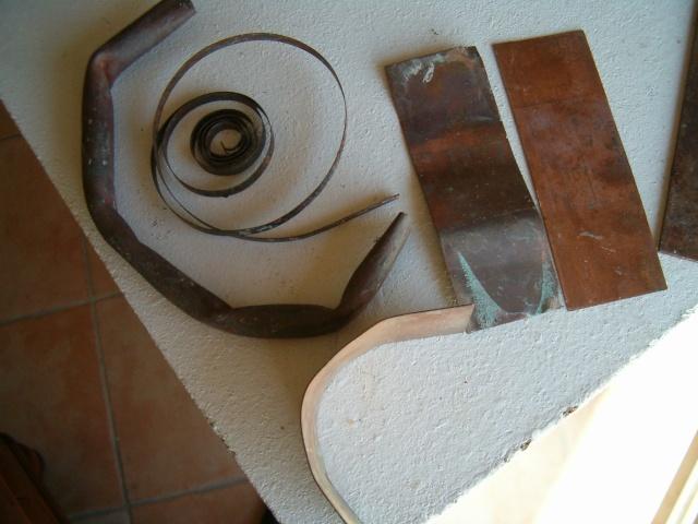 sculpture en terre et métal Photo_22