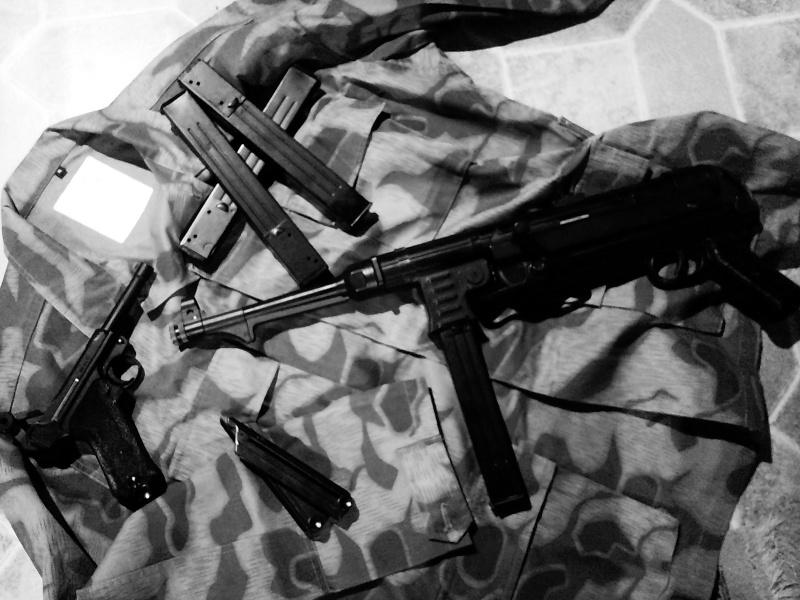 Mes répliques allemande WW2 Mp4011