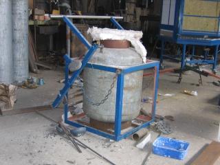 De la Cire Au Bronze - Construction d'un four bon marché Fourfi10
