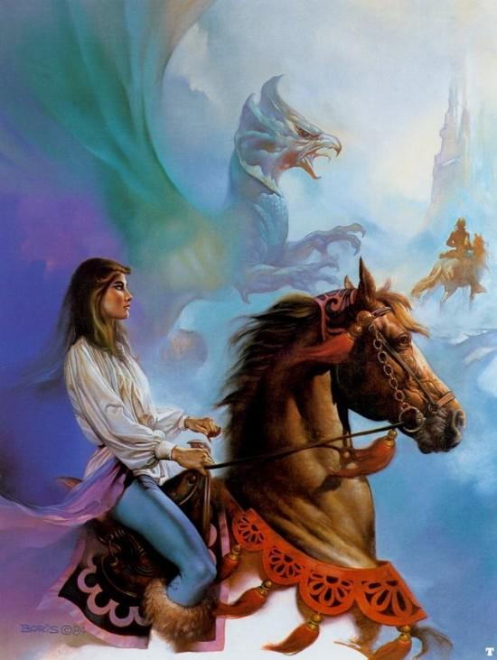 desssin cheval arabe Femme_10