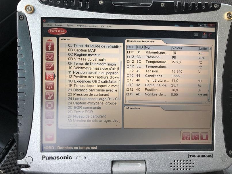 VIANO V6 Erreur P0101 811