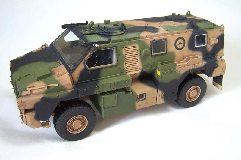 ASLAV et Bushmaster Bushma12