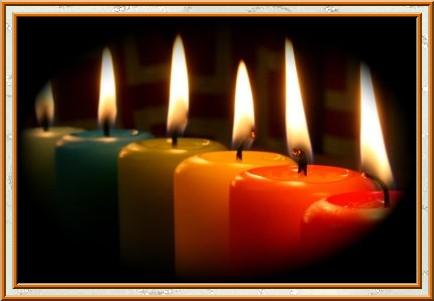 Bougies de couleur aux multiples significations Signif10