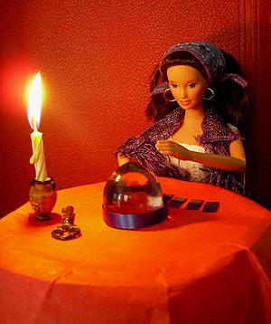 Boite aux Prospectus de la voyance par émail Tarot_11