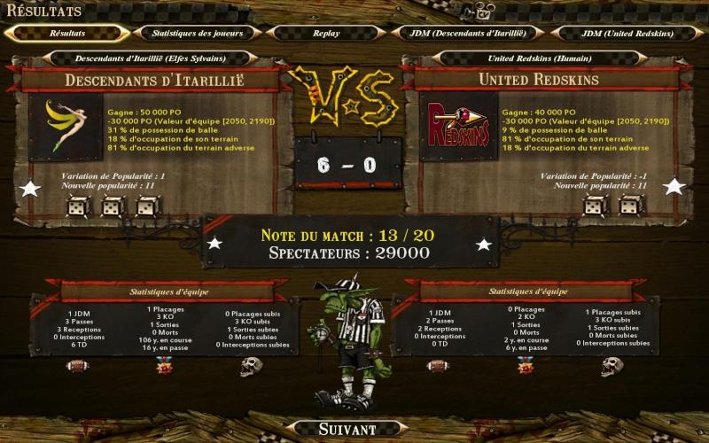 [Obsi]Descendants d'Itarillië 6-0 Redskins [Sezzla] Bloodb19