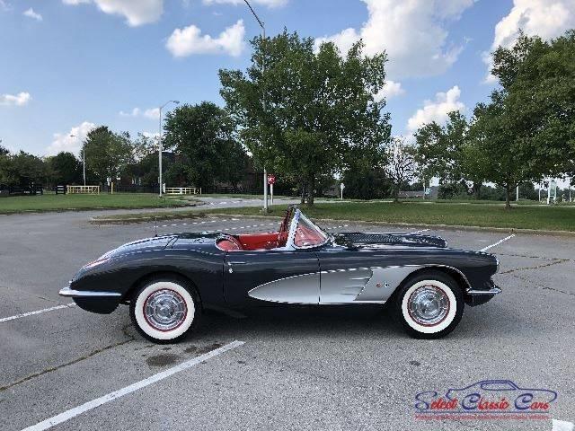 Corvette 1958 terminée 13624211