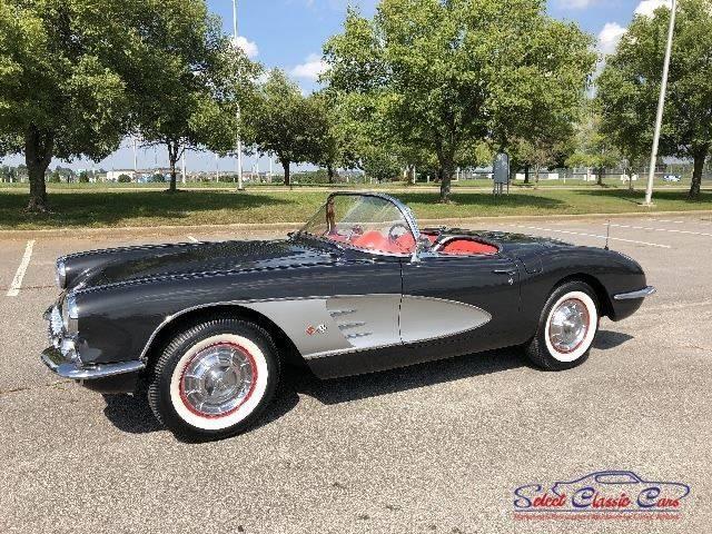 Corvette 1958 terminée 13624213