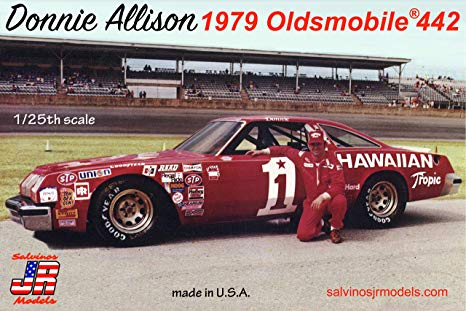 Oldsmobile 442 Nascar 79 Donnie Allison terminée 917ryn10