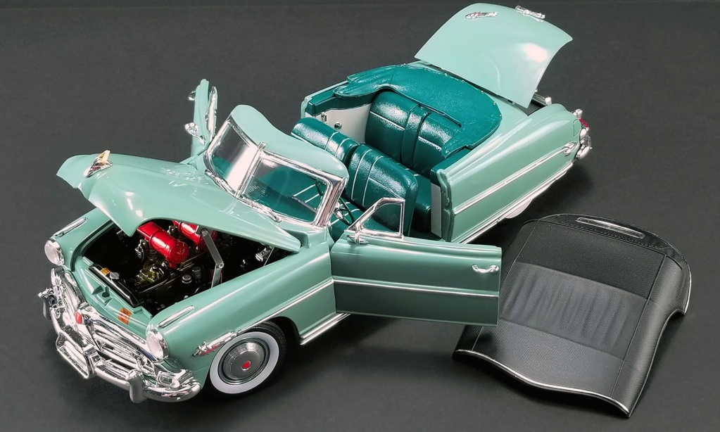 Hudson Hornet 1952 convertible terminée Hud210