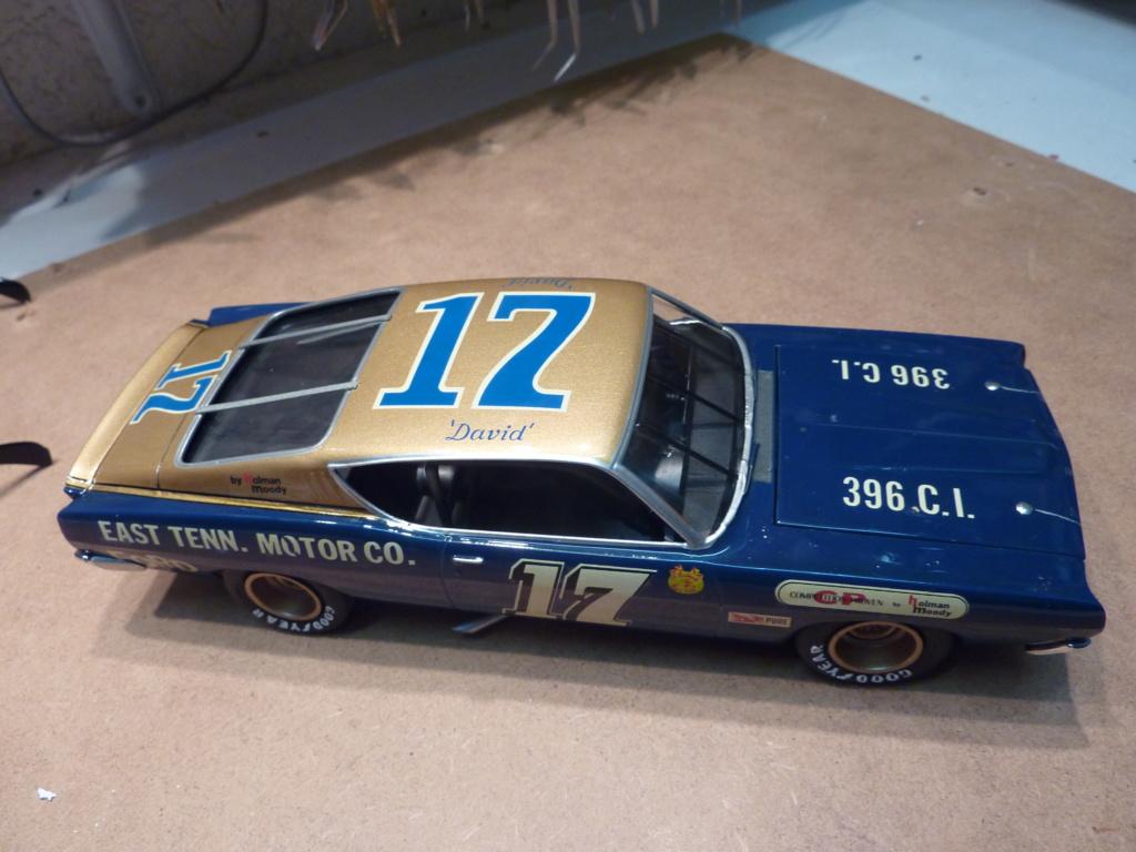 Restauration Ford torino cobra 68 nascar terminée P1470315