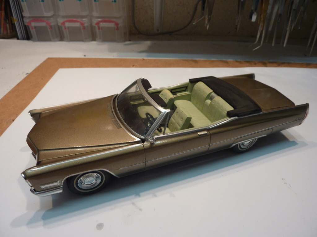 restauration complete Cadillac 68 Johan terminée P1470410
