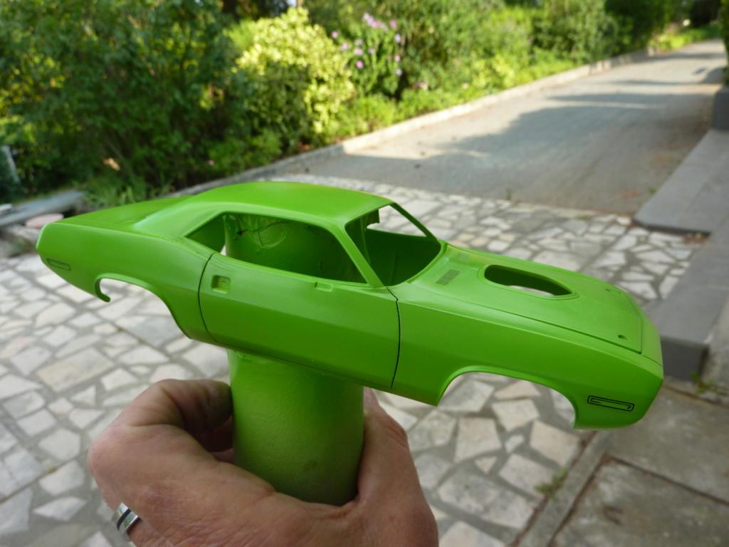 Plymouth Hemi Cuda 70 revell terminée P1470717