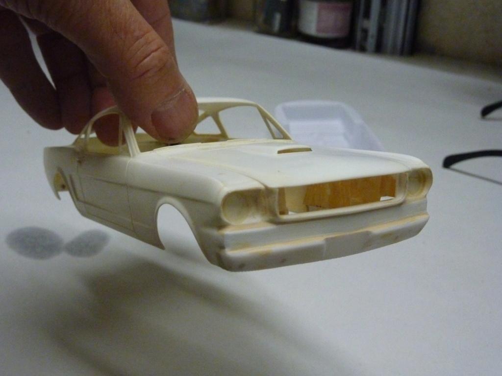 Projet 2eme Mustang gt 350 version racing fictive terminée P1480510